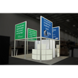 Load image into Gallery viewer, 20X20 Trade Show Exhibit - Island Booth Hybrid Pro 19