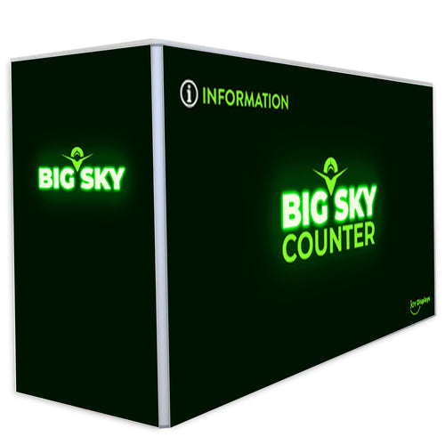 BACKLIT - 6 ft. Big Sky Counter - 40