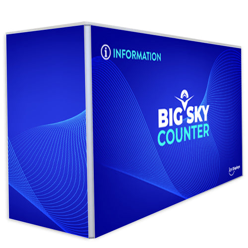 6 Ft. X 2 Ft. X 40 In. Big Sky Counter
