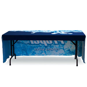 Regular Table Throw Full Color 6 Ft. With Dye-Sub Custom Print