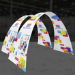 Load image into Gallery viewer, 10Ft Arch 02 Tension Fabric Formulate Exhibit Structure
