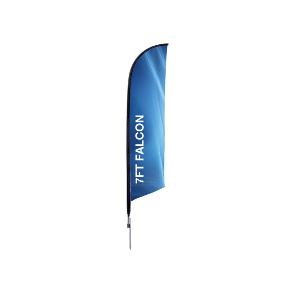 7 Ft. XSmall Falcon Flag Graphic Package