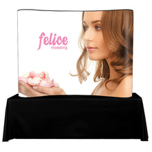 Load image into Gallery viewer, Pop Up Display Tabletop 8 Ft. Trade Show Exhibit Booth - Laminated