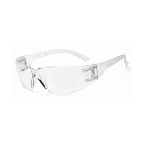 RADNOR® Classic Clear Frameless Safety Glasses With Clear Polycarbonate Anti-Fog/Anti-Scratch Lens