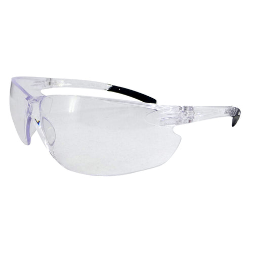 RADNOR® Classic Plus Clear Frameless Safety Glasses With Clear Polycarbonate Anti-Fog/Hard Coat Lens