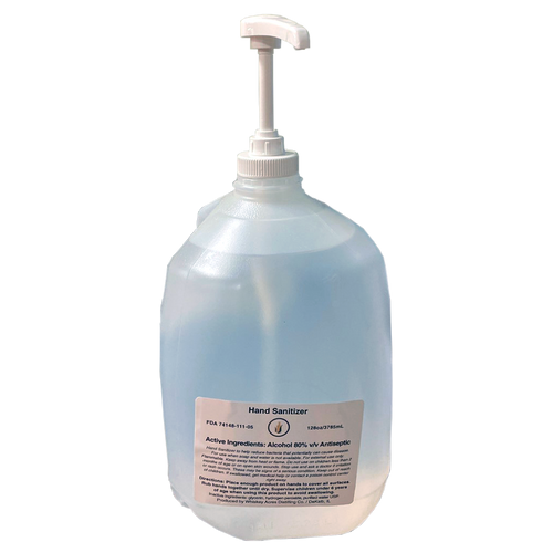 Liquid Hand Sanitizer - Single/Case of 4