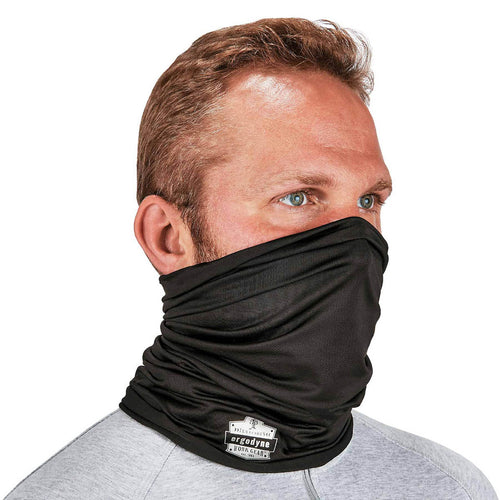 Ergodyne® Black Chill-Its® 6487 Performance Knit Cooling Multi-Band