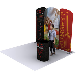 EZ Tube Connect 10FT Kit B Convention Banner Graphic Packages