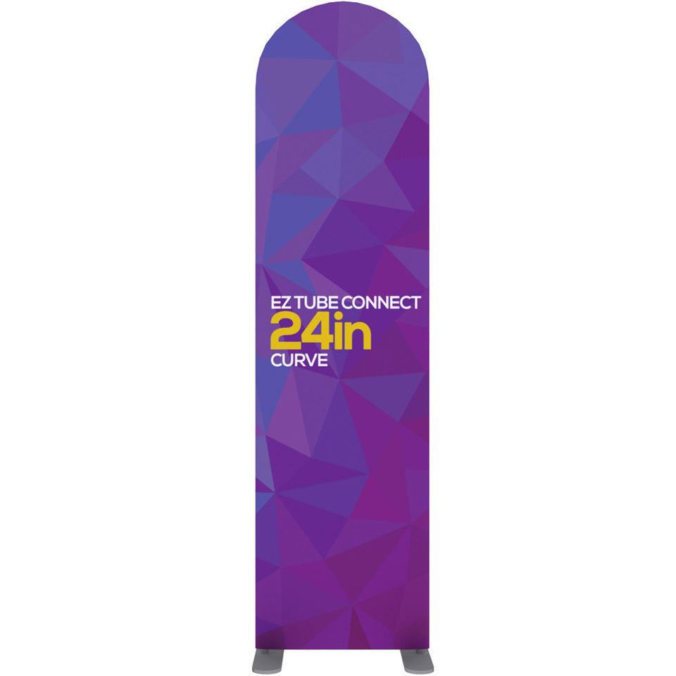 EZ Tube Connect 2 Ft. X 7.5 Ft. Curved Top Fabric Graphic Banner