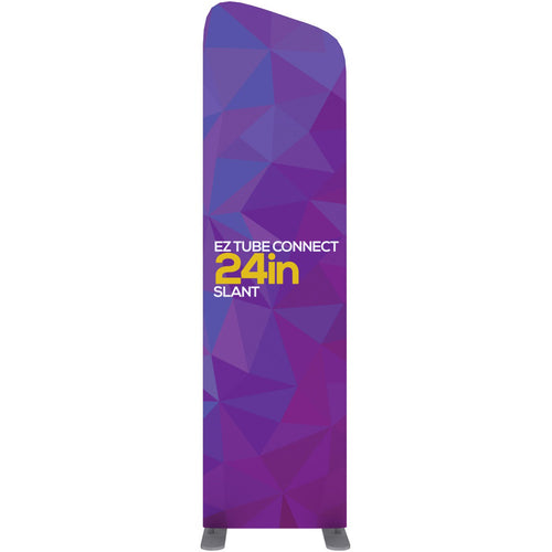 EZ Tube Connect 2 Ft. X 7.5 Ft. Slanted Top Fabric Graphic Banner