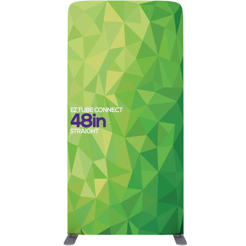 EZ Tube Connect 4 Ft. X 7.5 Ft. Straight Top Fabric Graphic Banner