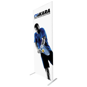 "33.5""w x 90""h Econotube Fabric Banner Graphic Package"