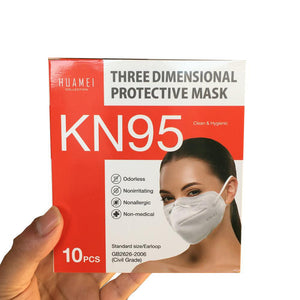 KN95 Non-Medical Face Mask - 500 Count
