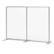 Load image into Gallery viewer, Plexiglass Acrylic Shield With Aluminum Frame - Freestanding Sneeze Guard Divider