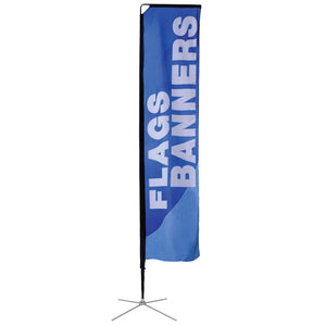 13.5' Mamba Single-Sided Flag Graphic Package