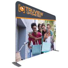 Load image into Gallery viewer, 10 Ft. ONE CHOICE Fabric Display -  Straight Aluminum Tube Trade Show Exhibit Booth