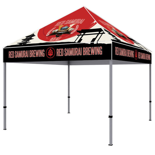 ONE CHOICE - 10 Ft. Canopy Steel Tent Dye-Sub Graphic Package