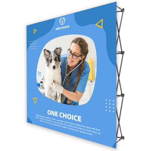 8 Ft. Fabric Pop Up Display - 89