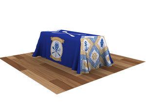 ONE CHOICE Table Throw Full Color 6 Ft. 4-Sided