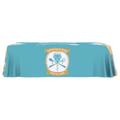 ONE CHOICE Table Throw Full Color 8 Ft. 4-Sided