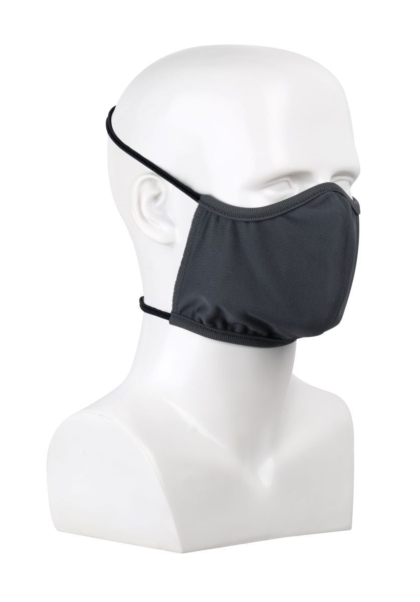 PIP® Reusable Gray Polyester Face Cover With Head Straps, 3/Pack (Not intended for medical use or to replace N95 or other NIOSH-approved respirators.)