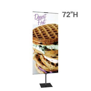 Promo Stand Double 24 In. Fabric Graphic Package