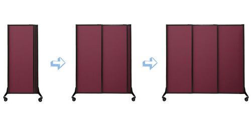 QuickWall Sliding Portable Partition