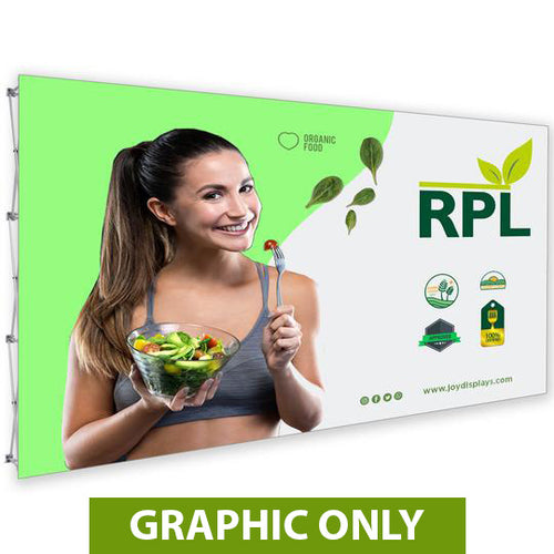 GRAPHIC ONLY - 15 Ft. RPL Fabric Pop Up Display - 89