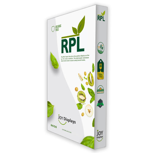 5 Ft. RPL Fabric Pop Up Display - 89