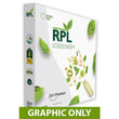 "Load image into Gallery viewer, GRAPHIC ONLY - 8ft. RPL Fabric Pop Up Display - 89""H Straight Replacement Graphic"