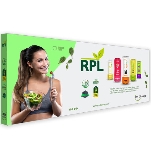20 Ft. RPL Fabric Pop Up Display - 89