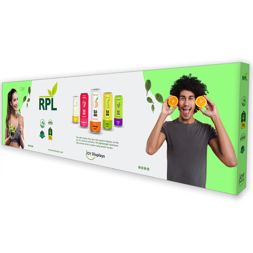 30 Ft. RPL Fabric Pop Up Display - 89