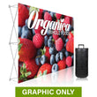 Load image into Gallery viewer, GRAPHIC ONLY - 7 Ft. Ready Pop Fabric Display - 5'H Straight Replacement Graphic