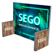 Load image into Gallery viewer, BACKLIT - 10ft x 7.4ft SEGO Modular Double-Sided Lightbox Display Configuration E