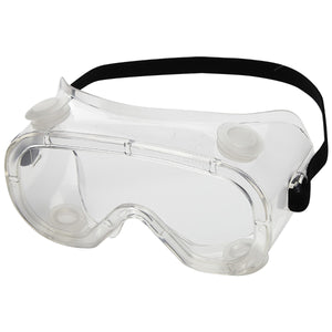 Sellstrom® Indirect Vent Chemical Splash Goggles With Clear Flexible Frame And Clear Anti-Fog Lens