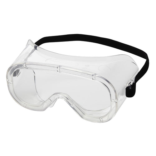 Sellstrom® Non-Vented Chemical Splash Goggles With Clear Flexible Frame And Clear Lens