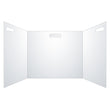 "Load image into Gallery viewer, Semi-Transparent Trifold Sneeze Guard - 22"" W X 18"" H Portable Desk Shield With 13.5"" W Side Panels"