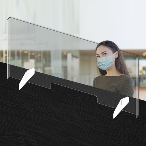 Acrylic Sneeze Guard - 44
