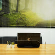 "Load image into Gallery viewer, Desk Sneeze Guard - 30"" W X 23"" H Plexiglass With Bottom Opening - 1/8"" Acrylic"
