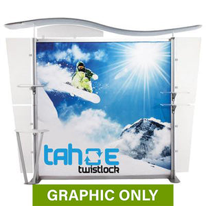 GRAPHIC ONLY - 10 ft. Tahoe Twistlock X Replacement Graphic