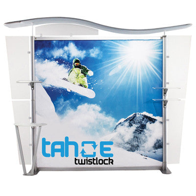 10 ft. Tahoe Twistlock X Trade Show Display