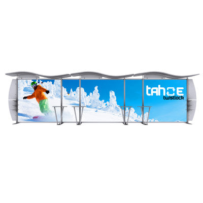 30 ft. Tahoe Twistlock V Trade Show Display