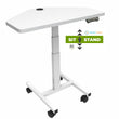 "Load image into Gallery viewer, Sit-to-Stand Computer Desk - 36"" X 22"" - Height Adjustable Standing Desk"