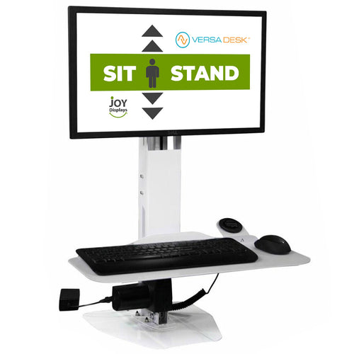 Sit-To-Stand Computer Station  - Monitor and keyboard Lift