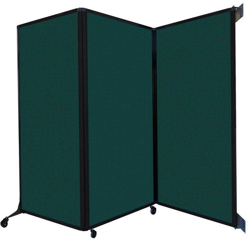 Wall-Mounted QuickWall Folding Partition