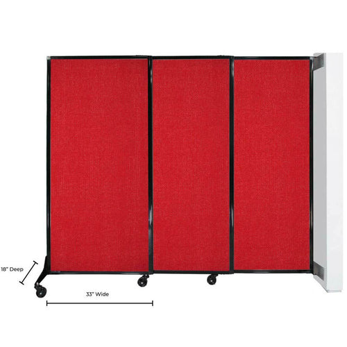 Wall-Mounted QuickWall Sliding Partition