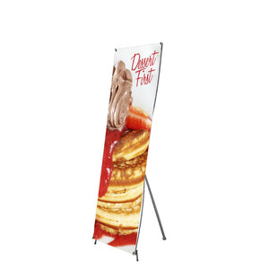 X1 Banner Stand Small 24 In. X 71 In. Graphic Package