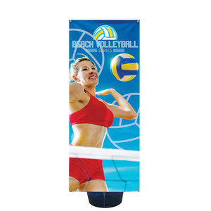 Zephyr Outdoor Banner Stand 2 Ft. Single-Sided Graphic Package