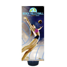 Load image into Gallery viewer, Zephyr Outdoor Banner Stand 3 Ft. Single-Sided Graphic Package