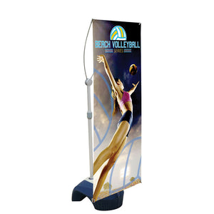 Zephyr Outdoor Banner Stand 3 Ft. Single-Sided Graphic Package